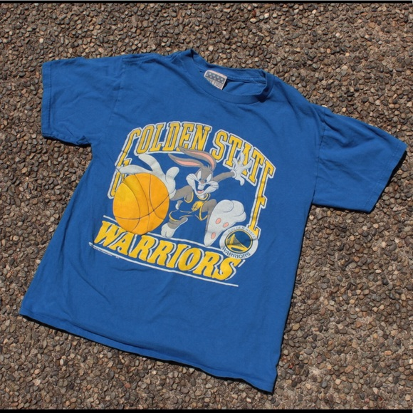 half off 85756 603e9 Vintage Golden State Warriors Bugs Bunny T-shirt